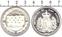 Изображение Монеты Сан-Марино 5000 лир 1999 Серебро Proof Республика Сан-Марин
