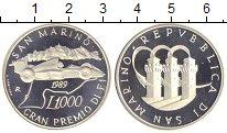 Изображение Монеты Сан-Марино 1000 лир 1989   Республика Сан-Марин