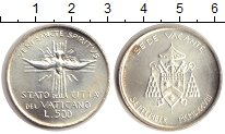 Изображение Монеты Ватикан 500 лир 1978 Серебро XF Седе Ваканте