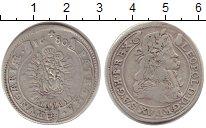 Изображение Монеты Венгрия 15 крейцеров 1680 Серебро VF Леопольд губатый