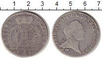Изображение Монеты Саксония 2/3 талера 1769 Серебро VF