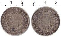 Изображение Монеты Берн 20 крейцеров 1766 Серебро VF