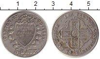 Изображение Монеты Швейцария Вауд 5 батзен 1829 Серебро XF