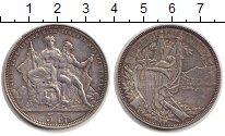 Изображение Монеты Швейцария 5 франков 1883 Серебро XF