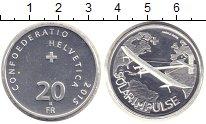 Изображение Монеты Швейцария 20 франков 2015 Серебро Proof