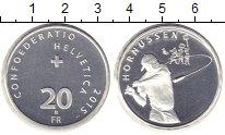 Изображение Монеты Швейцария 20 франков 2015 Серебро XF