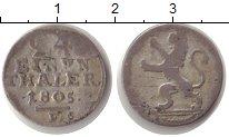 Изображение Монеты Гессен-Кассель 1/24 талера 1805 Серебро VF