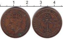 Изображение Монеты Цейлон 1 цент 1940  VF