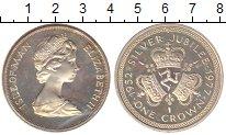 Изображение Монеты Остров Мэн 1 крона 1977 Серебро