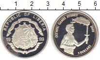Изображение Монеты Либерия 5 долларов 1999 Серебро Proof-