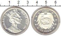 Изображение Монеты Остров Мэн 15 экю 1994 Серебро Proof-