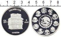Изображение Монеты Мексика 5 песо 2007 Серебро Proof