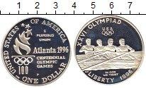 Изображение Монеты США 1 доллар 1996 Серебро Proof