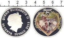 Изображение Монеты Тувалу 50 центов 2012 Серебро Proof- Елизавета II. Любовь