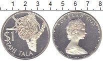 Токелау 1 тала 1978 Серебро