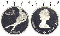 Изображение Монеты Канада 20 долларов 1985 Серебро Proof- Елизавета II. Олимпи