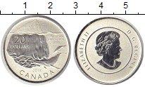 Изображение Монеты Канада 20 долларов 2013 Серебро Proof-