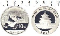 Изображение Монеты Китай 10 юаней 2014 Серебро Proof