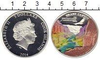 Изображение Монеты Острова Кука 5 долларов 2014 Серебро Proof
