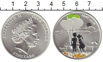 Изображение Монеты Острова Кука 5 долларов 2014 Серебро UNC-