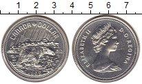Изображение Монеты Канада 1 доллар 1980 Серебро UNC- Медведь