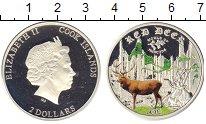 Изображение Монеты Острова Кука 2 доллара 2014 Серебро Proof