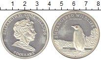 Изображение Монеты Острова Кука 5 долларов 2008 Серебро Proof- Елизавета II. Пингви