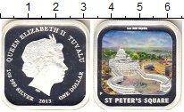 Изображение Монеты Тувалу 1 доллар 2013 Серебро Proof- Елизавета II. Площад