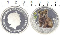 Изображение Монеты Тувалу 50 центов 2013 Серебро Proof-
