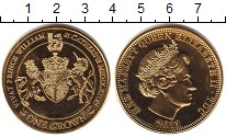 Изображение Монеты Тристан-да-Кунья 1 крона 2011  Proof