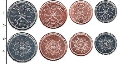 Изображение Наборы монет Оман Оман 2015 2015  UNC- В наборе 4 монеты но