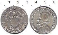 Изображение Монеты Панама 1/2 бальбоа 1966 Серебро VF