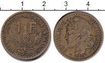 Изображение Монеты Того 1 франк 1924  VF