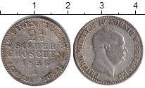Изображение Монеты Пруссия 2 1/2 гроша 1856  VF