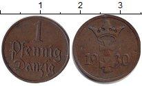 Изображение Монеты Данциг 1 пфенниг 1930 Медь VF