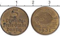 Изображение Монеты Данциг 5 пфеннигов 1932  XF