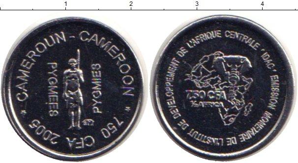 Картинка Монеты Камерун 750 франков Медно-никель 2005