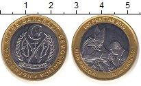 Изображение Монеты Сахара 500 песет 2010 Биметалл XF