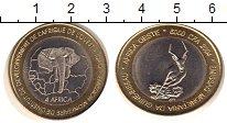 Изображение Монеты Гвинея-Бисау 6000 франков 2004 Биметалл VF