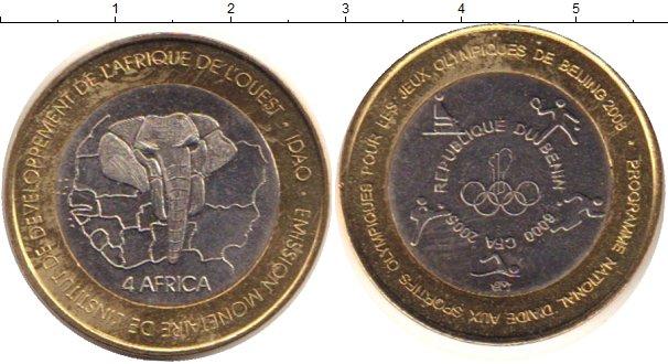 Картинка Монеты Бенин 6.000 франков Биметалл 2005