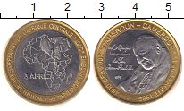 Изображение Монеты Камерун 4500 франков 1985 Биметалл UNC- Иоанн Павел II