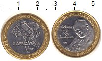 Изображение Монеты Камерун 4500 франков 1985 Биметалл UNC-