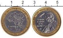 Изображение Монеты Конго 4500 франков 1980 Биметалл UNC-