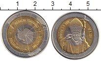 Изображение Монеты Антарктика 10 долларов 2011 Биметалл XF