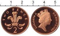 Изображение Монеты Великобритания 2 пенса 1989 Медь XF