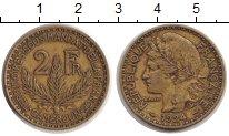Изображение Монеты Камерун 2 франка 1924  VF Французский