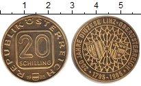 Изображение Монеты Австрия 20 шиллингов 1985  UNC-