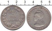 Изображение Монеты Португальская Индия 1 рупия 1912 Серебро VF