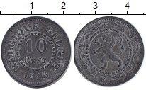 Изображение Монеты Бельгия 10 сентим 1916 Цинк VF