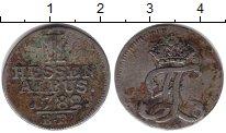 Изображение Монеты Гессен-Кассель 2 альбус 1782 Серебро VF